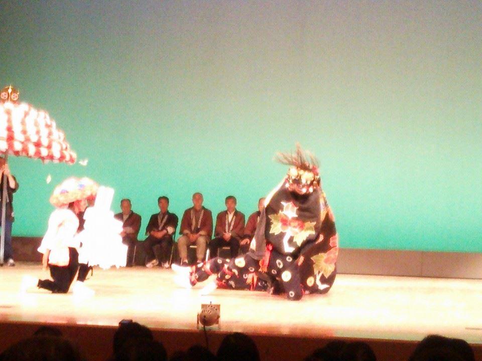 おおさわの 獅子舞と民謡の祭典