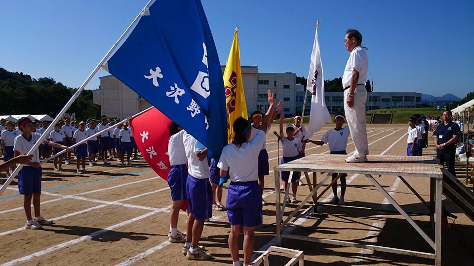 富山市立大沢野中学校および富山県立富山高等支援学校の体育祭に来ました!