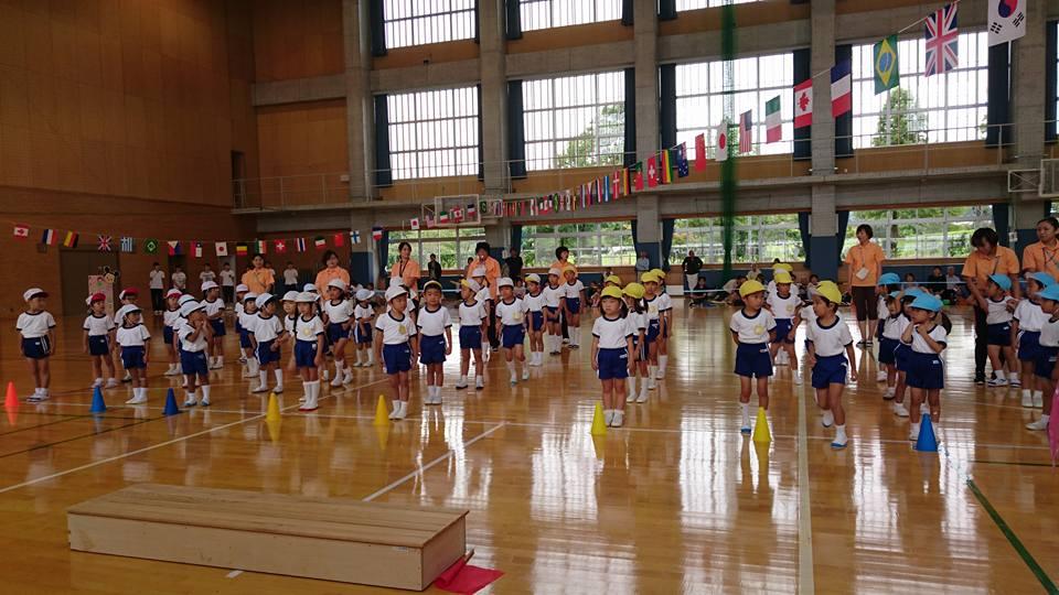 富山市立大久保幼稚園の「なかよしうんどうかい」