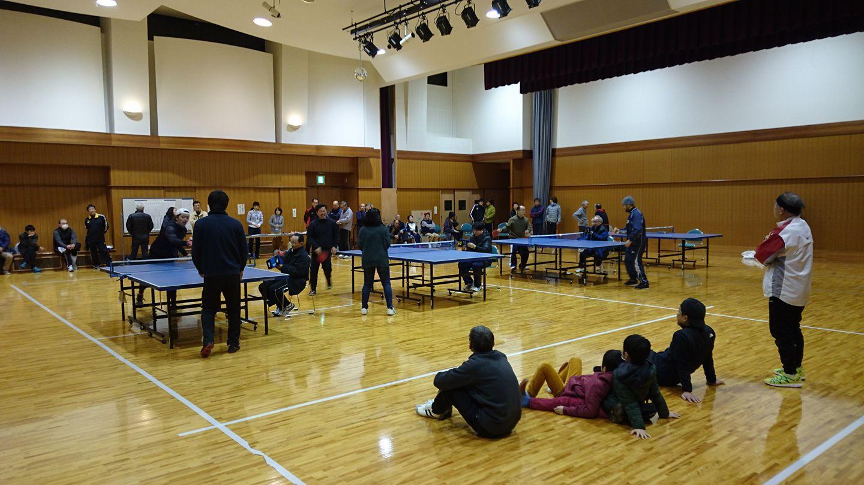 卓球大会(下大久保地区)に参加しました!